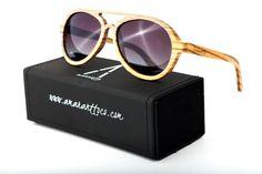 0c5ee1b84a Amarantto - Exotic Line: Modelo Okra - Gafas de sol unisex, con montura de