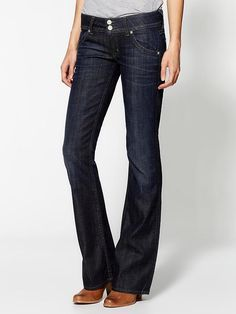 Hudson Jeans Signature Bootcut Jeans...these Ares my favorite! Post pregnancy I'll buy another pair.
