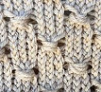 Loom Knit The Cluster Stitch