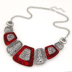 Collier Femme 2017 Fashion Statement Necklaces & Pendants Vintage Gold Geometric Choker Necklace for Women Maxi Collares Jewlery