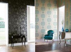Modern, stílusos lakástextil és tapéta a harmonikus enteriőrért – Lalika design a Harlequin-től
