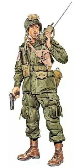 U.S. 517° Airborne, officer, Germany 1945, pin by Paolo Marzioli: