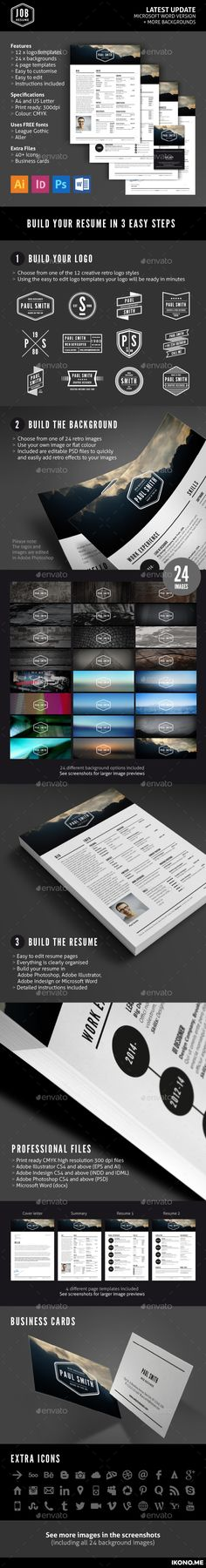 Resume Word Resume words, Resume cv and Cv resume template - create your own resume template