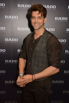 Hrithik Roshan unveils tasty new Rado chocolate brown collection in India  http   www dc1a65624e8