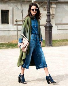 jeans + verde