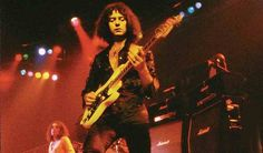 Ritchie Blackmore performing with Rainbow in Germany