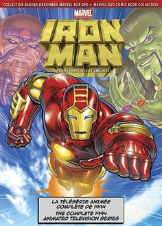 Marvel Iron Man: The Complete 1994 Animated Television Series @ niftywarehouse.com #NiftyWarehouse #IronMan #Iron-man #Marvel #Avengers #TheAvengers #ComicBooks #Movies