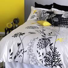 Blissliving Home Anis Yellow Duvet Set - Full/Queen Bed Sets, Comforter Sets, Yellow Gray Bedroom, Yellow Bedding, Yellow Pillows, Home Bedroom, Bedroom Decor, Bedrooms, Master Bedroom
