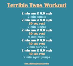 A good workout to try