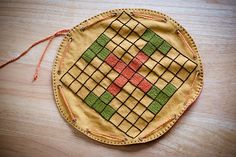 Embroidered Tablut Game: Opus Elenae (Elen verch Phellip)