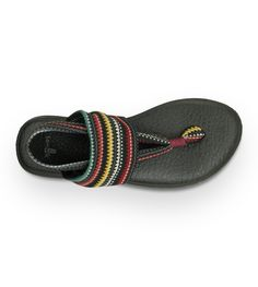 """Sanuk Yoga Sling Flip Flops for Women 