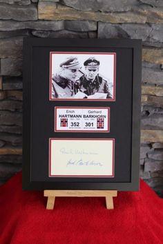 THE LETHAL TANDEM ** Erich Hartmann & Gerd Barkhorn limited edition display | eBay