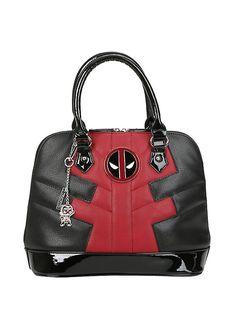 Marvel Deadpool Suit Dome Satchel Bag,