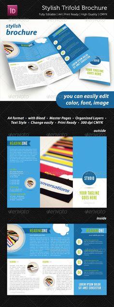 Stylish Trifold Brochure