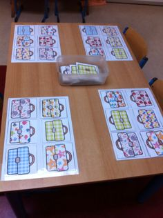 Lotto-spel boekentassen met motief