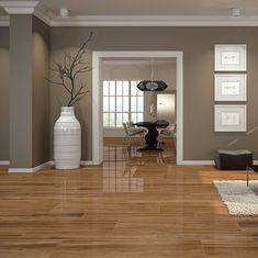 Krystal Gloss Woods Polished Royal Home Deco Gloss how to painted floor tiles Krystal Polished Royal Woods Living Room Wood Floor, Home Living Room, Living Room Decor, Room Paint Colors, Paint Colors For Living Room, Brown Living Room Paint, Interior Wall Colors, Home Room Design, Living Room Designs