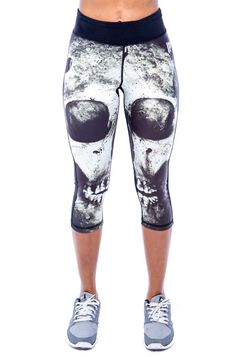 Iron Fist Athletic Loose Tooth Capri legíny