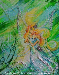 Tóth István spirituális festőművész festménye.  Személyre szabott gyógyító festmények megrendelése, a fenti linkre kattintva.  Gyógyító angyal Painting, Art, Art Background, Painting Art, Kunst, Paintings, Performing Arts, Painted Canvas, Drawings