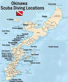 Okinawa Dive Sites - I went scuba diving in Okuma, and some other places near by. It was really fun.