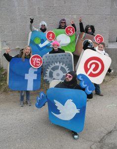 Social media Apps costumes