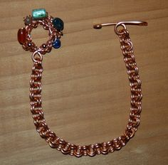 Now for sale on URCrafti.com See Copper Chainmaille Bracelet Here https://urcrafti.com/product/copper-chainmaille-bracelet/ %HTAgs%