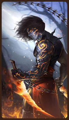 anime – Animefang Prince of Persia Dark Prince Dark Fantasy Art, Fantasy Artwork, Demon Artwork, Anime Art Fantasy, Fantasy Women, Fantasy Character Design, Character Inspiration, Character Art, Prince Of Persia