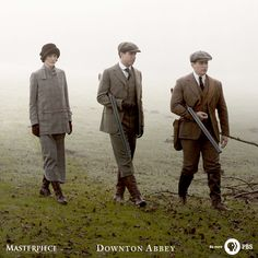The grounds of Downton Abbey offer so many opportunities for the sporting hunter.   Watch on Masterpiece PBS