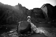 Frock in the landscape