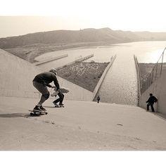 Cement shredding #skateboarding        Photo: Newton