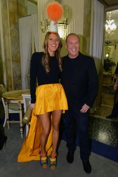 Anna Dello Russo and Michael Kors [Courtesy Photo]
