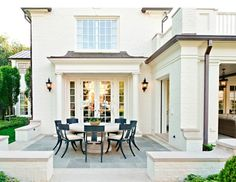 slate patio, creamy brick ideas for chairs around outdoor table and flooring…