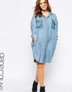 Платье рубашка для полных - http://pluskonfetka.ru/plate-rubashka-dlja-polnyh.html #мода2017 #мода #plussize #большойразмер #дляполных
