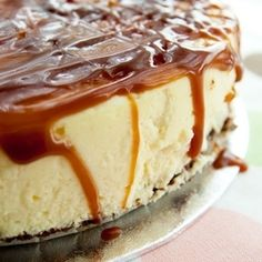 """Pillow cheesecake with that dreaded wonderful combination: sea salt & caramel"""
