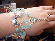 Slave Bracelet of the Water Moon Elven Celtic Fairy Druid Priestess Costume Bridal