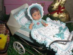 Puppenwagen-Garnitur für Barbie, Ooak  u.a. Wagen für die Puppenstube