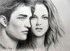 Robert and Kristen in Twilight by noeling.deviantart.com on @deviantART
