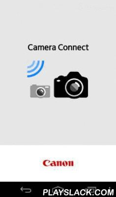 Canon Camera Connect  Android App - playslack.com ,  Canon Camera Connect is a free application which enables users to transfer images shot with Canon digital cameras (see below for compatible models) to Android devices via Wi-Fi and share these images in simple steps.Features:-This application provides the following features:1) Connect the camera directly to the device (set the camera as a simplified access point) or join an existing Wi-Fi network (using a Wi-Fi access point).2) Browse and…