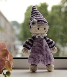 Ravelry: Project Gallery for Cuddly-baby - amigurumi doll pattern by Mari-Liis Lille