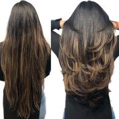 Long Hair V Cut, Haircuts For Long Hair Straight, New Long Hairstyles, Long Layered Haircuts, Very Long Hair, Long Curly Hair, Curled Hairstyles, Wavy Hair, Blonde Hair