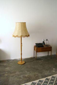 XXL Retro Stehlampe von mele-pele auf DaWanda.com