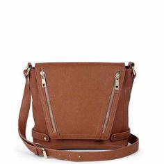 .Neutral crossbody bag. I like it!