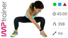Video Allenamento GAG, workout fitness completo da 45 minuti - YouTube