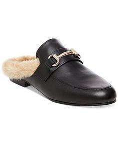 online retailer c9415 3ccba Mules Shoes Flat, Black Mules Shoes, Steve Madden Slides, Fall Shoes, Sock