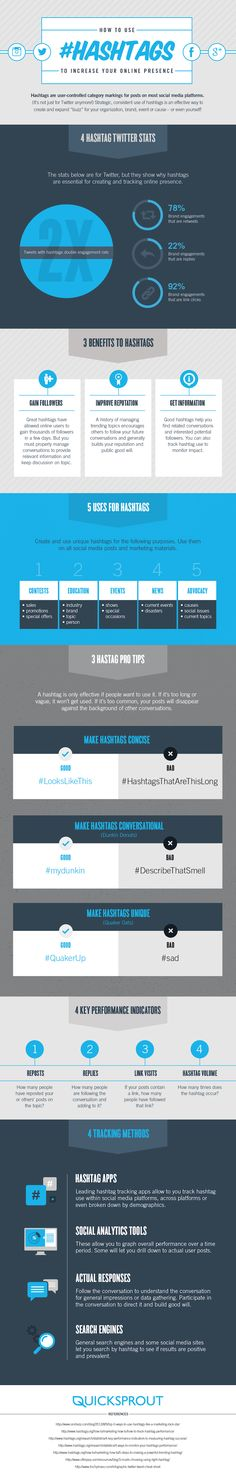 Don't make a hash of it – Using hashtags to increase your social presence - #Twitter #Hashtags #SocialMedia