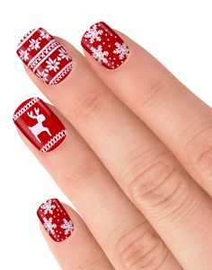 Image 3 of Elegant Touch Xmas Nails -Christmas Jumper