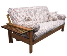 Tray Arm Futon Frame Available In Full Queen Chair Split And