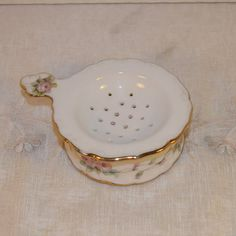 Tea Bag Strainer Vintage Shabby Chic Tea by ShellysSelectSalvage