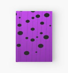 'Black ovals, dots on strings purple pattern' Case/Skin for Samsung Galaxy by cool-shirts