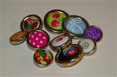 Make your own buttons - plenty of other craft ideas on this site.