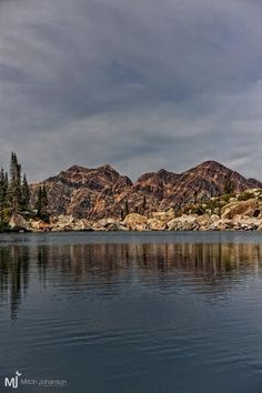 Upper Red Pine Lake, Wasatch Mountains, Utah; photo by Mitch Johanson